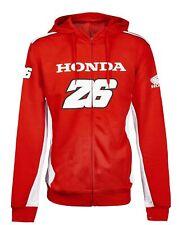 Sweatshirt Mens Dual Honda Team Pedrosa 26 MotoGP Bike Hoody Hoodie NEW!