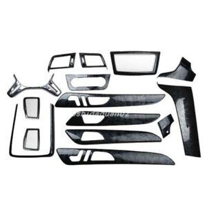 Black wood grain Car Interior kit Cover Trim For Mercedes-Benz ML 2012-2016