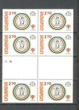 T54 - UGANDA 1979 - BLOCCO DI 6 INFANZIA ** - VEDI FOTO