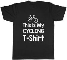 Das ist mein Radfahren T-Shirt Herren Unisex T-Shirt Tee