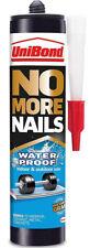 1 x UniBond No More Nails Waterproof Adhesive Glue Bonds Wood Tiling Metal 450g