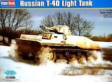 Hobbyboss 1:35 T-40 Russian Light Tank Model Kit