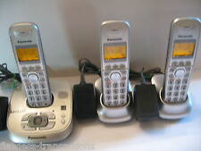 PANSONIC KX-TG4021 Expandable Dect 6 Digital Cordless Phone Answering System