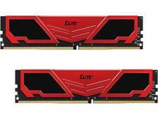 Team Elite Plus 8GB (2 x 4GB) 288-Pin DDR4 SDRAM DDR4 2400 (PC4 19200) Desktop M