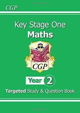 KS1 Maths Targeted Study & Question Book - Year 2 by CGP Books | Paperback Book