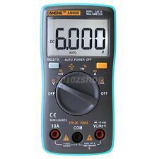 LCD Digital Multimeter Strom Messgerät Voltmeter AC DC Diodentest