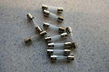 1.25 Amp F1.25L 250v Glass Fuse Fast Blow 20mm x 5mm - Pack of 10 UK Stock