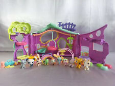 Pets Pet Only Playset Shop Littlest Clubhouse LPS Used Treehouse Lot Play Purple