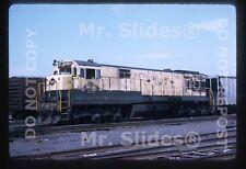 Original Slide RDG Reading Co. 'Bee Line Service' U30C 6301 E'Port NJ 1975
