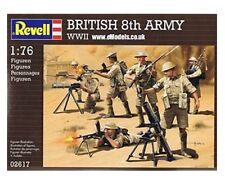 REVELL 02617-WWII BRITISH 8th Army Militare Figure Scala 1/76 - 1st Class Post