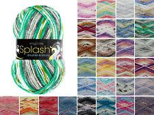 King Cole Splash DK Knitting Yarn Acrylic 100g Wool