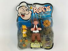 Popeye the Sailorman Wimpy Action Figure by Mezco 2001 New
