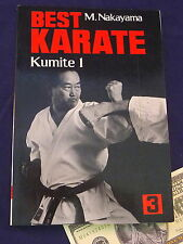 Karate Instruction Book Best Karate Volume 3 Kumite 1 Masatoshi Nakayama