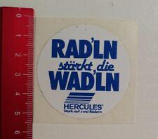 Aufkleber/Sticker: Hercules Stark auf zwei Rädern - Rad'ln stärkt (250317146)