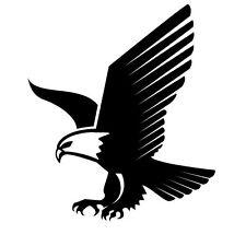 EAGLE LANDING,ANIMALS,   CAR DECAL STICKER