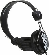 Wesc Conga On-Ear Headphones-Black
