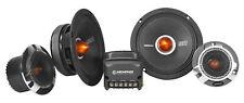 """Memphis Audio SRXP62C SRX Pro 6.5"""" Competition SPL Component Car Audio Speakers"""