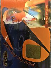Seven of Nine (Jeri Ryan) STAR TREK 40th Anniversary Voyager Costume Card C12