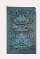 Muslim Prayer Rug/Islamic Janamaz Travelling Prayer Mat with 3 Gift Items,Blue