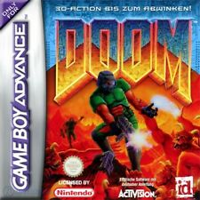 Nintendo GameBoy Advance Spiel - Doom mit OVP sehr guter Zustand