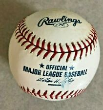 Game Used Rawlings Official Major League Baseball Bud Selig Commissioner