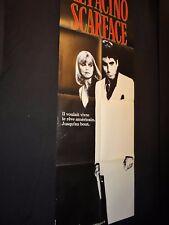 SCARFACE brian de palma al pacino  affiche cinema  modele rare 1983