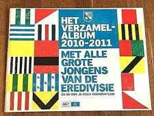 Album figurine EREDIVISE 2010 11 COMPLETE sticker calciatori Football no panini