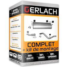 Pour Iveco Daily 2.3 3.0 Diesel 4x2 echappement silencieux 5190