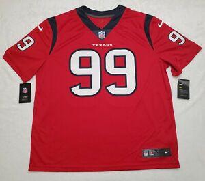Nike J.J. Watt 2020 Houston Texans VAPOR Limited Jersey $150 SZ XXL Red NWT Men