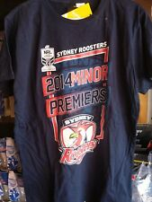 Sydney Roosters 2014 NRL Minor Premiers Tshirt Size Medium