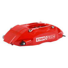 Disc Brake Upgrade Kit-Red Caliper / Slotted Coated Disc Front Stoptech