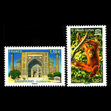 France 2017 - UNESCO World Heritage Fauna and Architecture - MNH