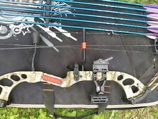 PSE 32' Fever Compound Bow with 6 1820 Easton arrows