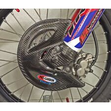 PRO CARBON FIBRE Front Disc Guard DIRECT FIT - HONDA CRF250 CRF450 R X 2013-2016