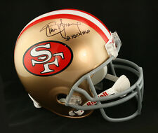 Steve Young SIGNED SF 49ers F/S Helmet + SB XXIX MVP ITP PSA/DNA AUTOGRAPHED