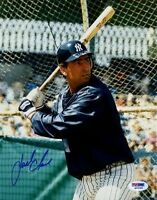 Jack Clark Yankees Psa/dna Signed 8x10 Photo Certed Autograph Authentic