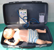 Laerdal Actronics Baby CPR Training Manikin  Case & controller