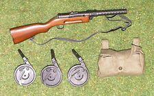 DRAGON in DREAMS 1/6 WW mi tedesco Lutz LOOSE MP 18 (legno e metallo) Pouch (CLOTH)