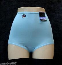 BALI Cool Skamp Cotton/Spandex Jamaican Blue Full-Cut Brief Size 7/Large