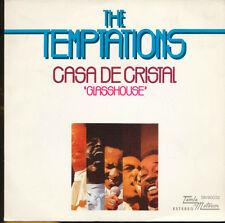Temptations Glasshouse / The Prophet Spain Import 45 With Picture Sleeve