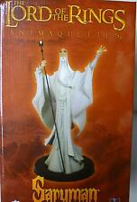 Lord of the Rings Animated Saruman Animaquette Statue Christopher Lee .