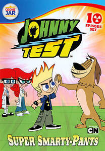 Johnny Test: Super Smarty Pants (DVD, 2011) New Factory Sealed!