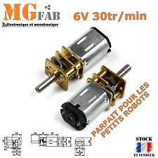 Motoréducteur N20 GA12 6V DC 30rpm | Moteur Arduino DIY robot micro mini motor