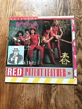 NEW YORK DOLLS - RED PATENT LEATHER - ROCK,PROTO PUNK - J.THUNDERS - RED WAX!!!