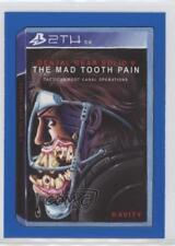 2017 Crazy Video Games Blue #7 Dental Gear Solid V: The Mad Tooth Pain Card 0c4