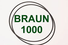 CINGHIE CONTANASTRO BRAUN 1000 REGISTRATORE A BOBINE BOBINA NUOVE FRESCHE SET