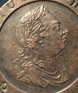 1797 King George III Cartwheel Two Pence - Nice #R2