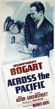 ACROSS THE PACIFIC Movie POSTER 20x40 Humphrey Bogart Mary Astor Sydney