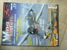 $$w Revue Wing Masters N°28 Fokker  Messerschmitt Bf 109G  F6F-5K Drone  Neptune