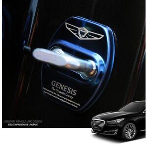 Stainless Steel Door Striker Cover 4Color For 2016~2019+ Hyundai Genesis G90